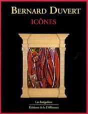 Bernard Duvert - Icones - Couverture - Format classique