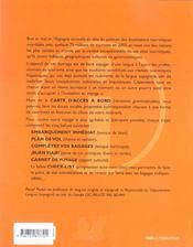 Informacion Y Turismo Les Bagages Indispensables En Espagnol - 4ème de couverture - Format classique