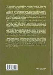 Sigmund Freud ; L'Homme Le Medecin Le Psychanalyste - 4ème de couverture - Format classique