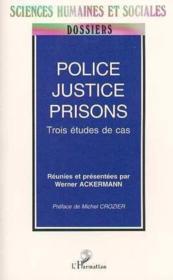 Police, Justice, Prisons - Couverture - Format classique