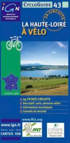 La Haute-Loire à vélo - Couverture - Format classique
