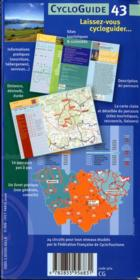 La Haute-Loire à vélo - 4ème de couverture - Format classique