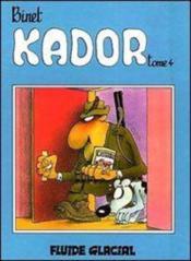 Kador T.4 - Couverture - Format classique