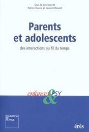 Parents Et Adolescents - Intérieur - Format classique