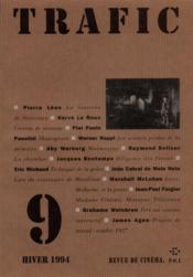 Revue Trafic N.9 - Couverture - Format classique
