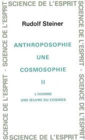 Anthro. Cosmosophie T. 2 - Couverture - Format classique
