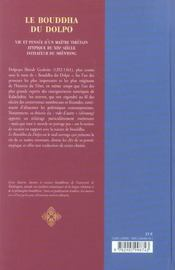 Le bouddha du dolpo - 4ème de couverture - Format classique