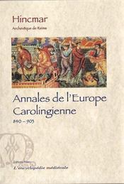 Annales de l'Europe carolingienne (840-903) - Intérieur - Format classique