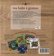 Ma Boite A Graines - 4ème de couverture - Format classique