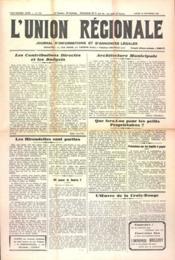 Union Regionale (L') N°1151 du 21/09/1940 - Couverture - Format classique