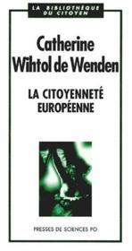 La citoyenneté européenne - Couverture - Format classique