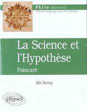 La Science Et L'Hypothese Poincare - Intérieur - Format classique