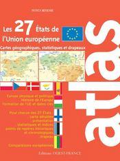 Atlas des 27 états de l'union européenne - Intérieur - Format classique