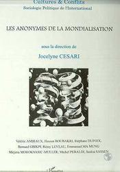 Revue Cultures & Conflits ; Les Anonymes De La Mondialisation - Couverture - Format classique