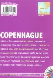 Copenhague - 4ème de couverture - Format classique