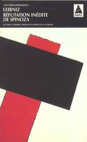 Refutation Inedite De Spinoza Babel 368 - Intérieur - Format classique
