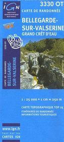 Bellegarde-sur-Valserine ; Grand Crêt d'Eau ; 3330 OT - Intérieur - Format classique