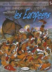 Au Secours Voila Les Europeens - Couverture - Format classique