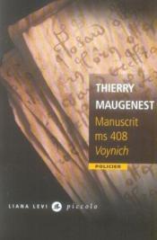 Manuscrit ms 408 voynich - Couverture - Format classique