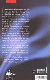 Voie de l'encens (la) - 4ème de couverture - Format classique