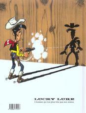 Lucky Luke t.61 ; chasse aux fantômes - 4ème de couverture - Format classique