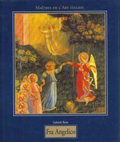 Les maitres de l'art italien ; fra angelico - Intérieur - Format classique