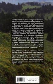 Pèlerin d'Occident ; à pied jusqu'à Rome - 4ème de couverture - Format classique