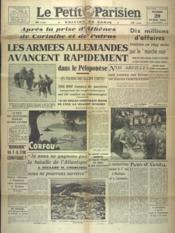 Petit Parisien Edition De Paris (Le) du 29/04/1941 - Couverture - Format classique