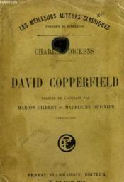 David Copperfield. Tome 2. - Couverture - Format classique