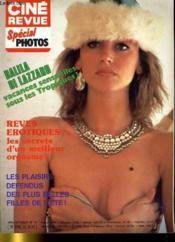 CINE REVUE - SPECIAL PHOTOS - 62E ANNEE - N°11 - REVES EROTIQUES: les secrets d'un meilleur orgasme! - Les plaisirs défendus des plus belles filles de l'été. - Couverture - Format classique