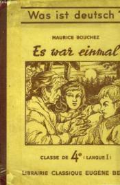 Es War Einmal - Couverture - Format classique