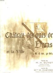 Chateau Des Ducs De Duras Et La Ville - Couverture - Format classique