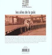 Ailes De La Paix (Les) - 4ème de couverture - Format classique