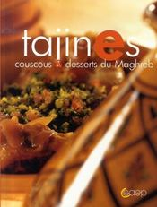 Tajines, couscous et desserts du maghreb - Intérieur - Format classique