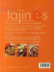 Tajines, couscous et desserts du maghreb - 4ème de couverture - Format classique