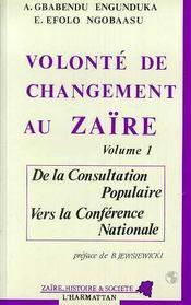 Volonte De Changement Au Zaire T1 - Intérieur - Format classique