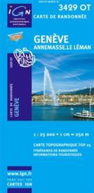Genève ; Annemasse ; le Léman ; 3429 OT - Couverture - Format classique