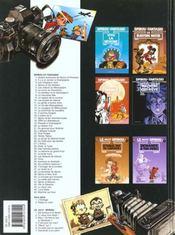Spirou et Fantasio t.29 ; des haricots partout - 4ème de couverture - Format classique