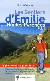 Les entiers d'Emile dans les Hautes-Pyrénées t.1 - Couverture - Format classique