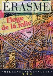 Eloge De La Folie - Couverture - Format classique