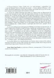 Histoire générale de la Guyane française - 4ème de couverture - Format classique