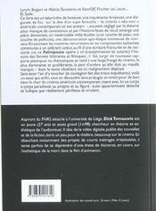 Le palimpseste noir ; notes sur l'impétigo, la terreur et le cinéma américain contemporain - 4ème de couverture - Format classique