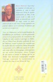 Tara. L'Eveil Au Feminin - 4ème de couverture - Format classique