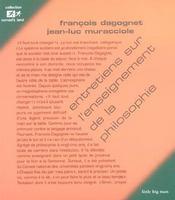 Entretiens sur l'enseignement de la philosophie - Intérieur - Format classique