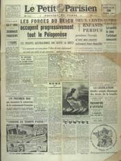 Petit Parisien Edition De Paris (Le) du 30/04/1941 - Couverture - Format classique