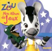 Zou ; mon album de jeux - Couverture - Format classique