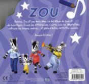 Zou ; mon album de jeux - 4ème de couverture - Format classique