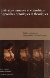 Litterature narrative et consolation - Couverture - Format classique