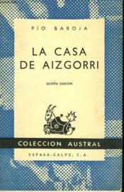 La Casa De Aizgorri - Couverture - Format classique