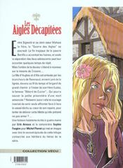 Les aigles décapitées t.17 ; le châtiment du banni - 4ème de couverture - Format classique